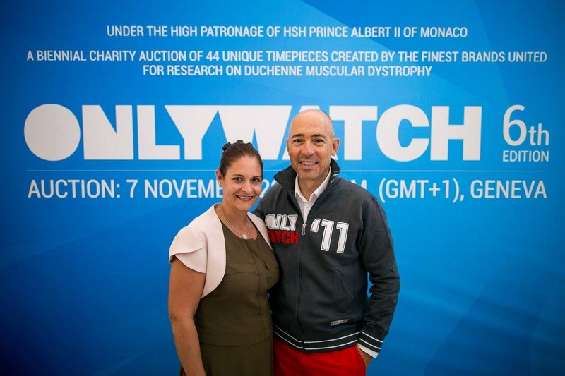 Only Watch auction 2015 - Gäelle Tallarida, Monaco Yacht Show and Informa Group and Luc Pettavino — at Monaco Yacht Show - MYS.