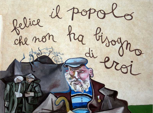 Orgosolo's wall paintings Sardegna