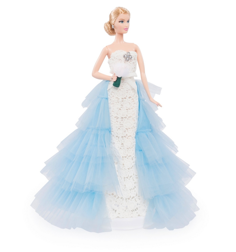 Oscar de la Renta Bridal Barbie Doll-