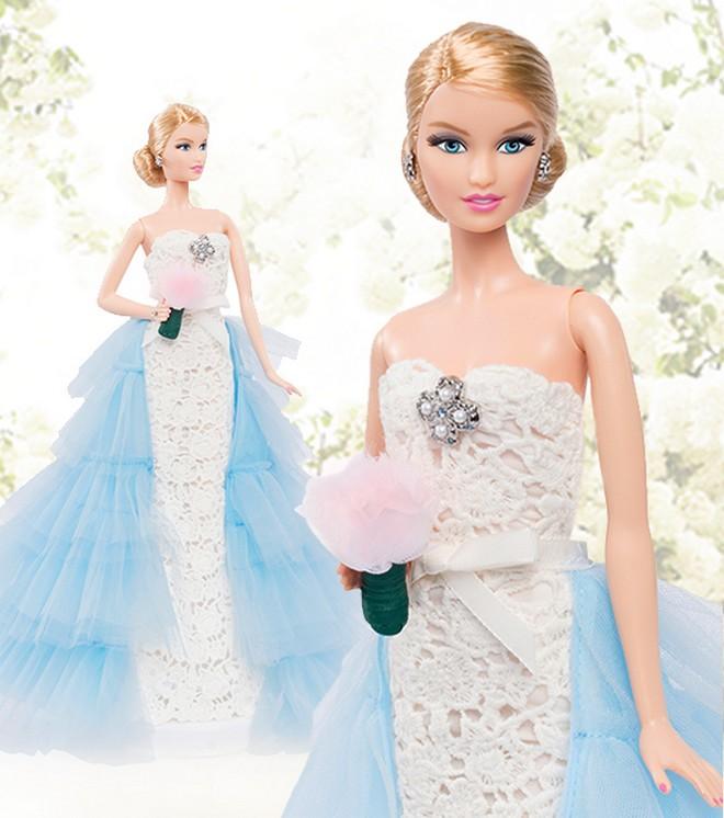 Oscar de la Renta Bridal Barbie Doll 2016 model