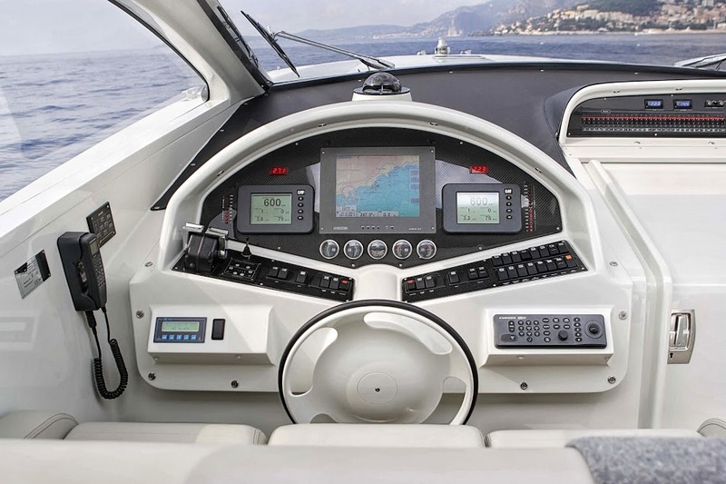 Otam 55 yacht--cockpit