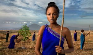 Our Roots, Photograph by Steve McCurry, The Earth Defenders 2015 Lavazza Calendar