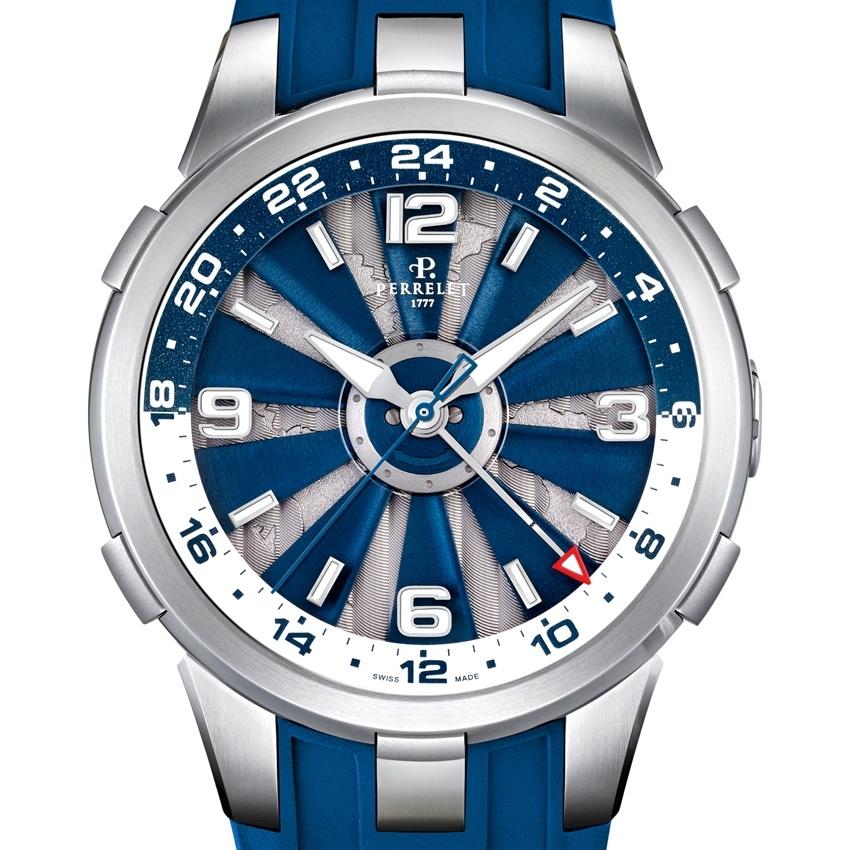 PERRELET Turbine GMT watch-
