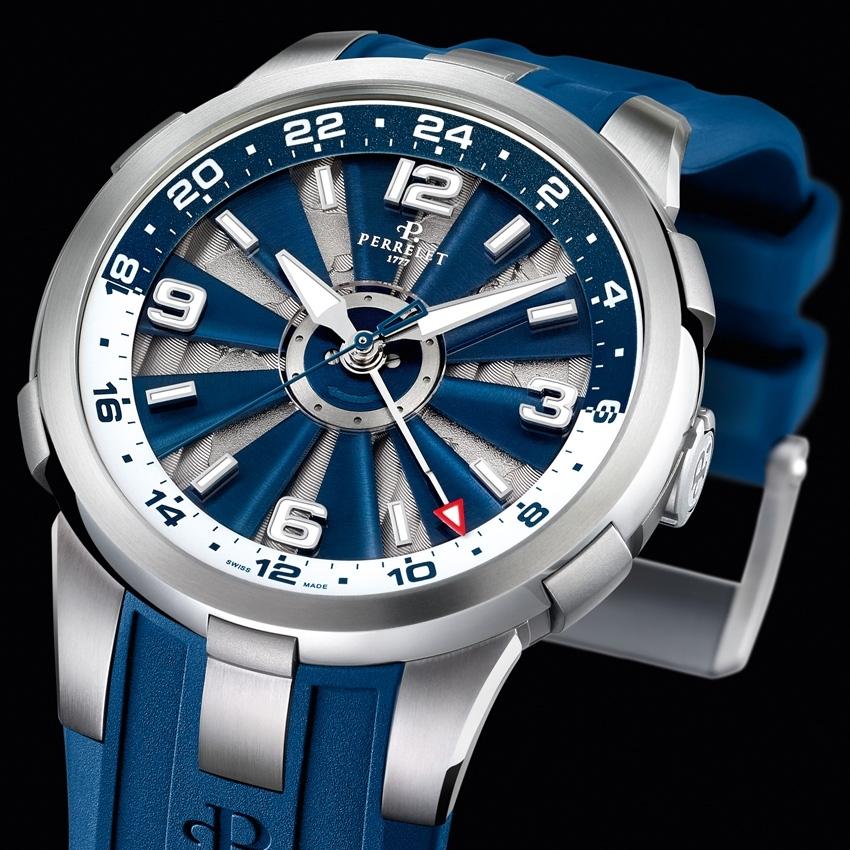 PERRELET Turbine GMT watch