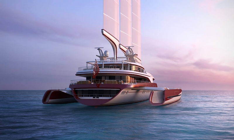 PI SUPER YACHTS mansion on the water - dragonship