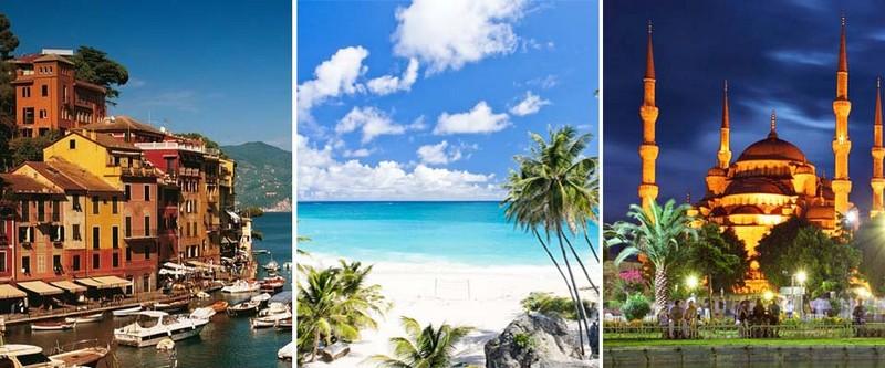 P&O cruises destinations