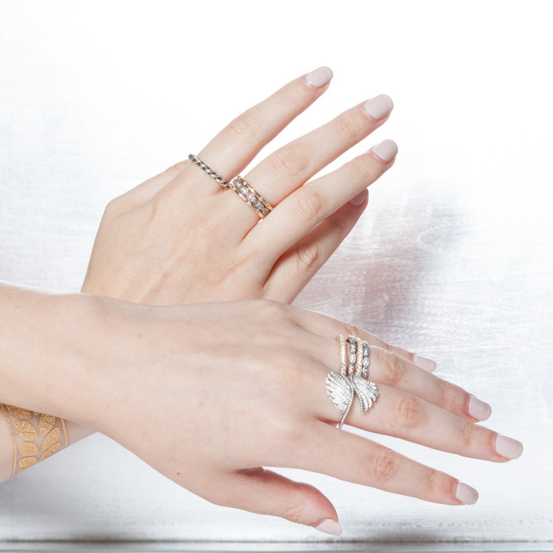 Pandora 2015 Collection--Cool ring styling by stylist Nicole Chavez