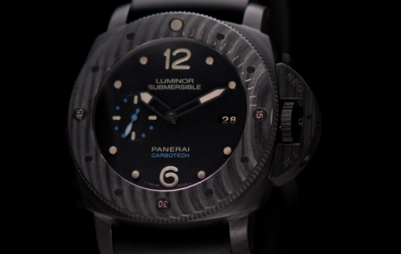 Panerai Carbotech Luminor Submersible 1950 Carbotech 3 Days Automatic 47mm - watch