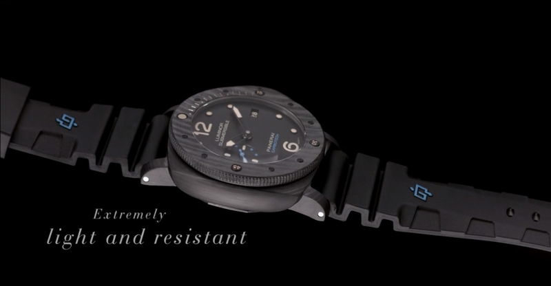 Panerai Carbotech Luminor Submersible 1950 Carbotech 3 Days Automatic 47mm
