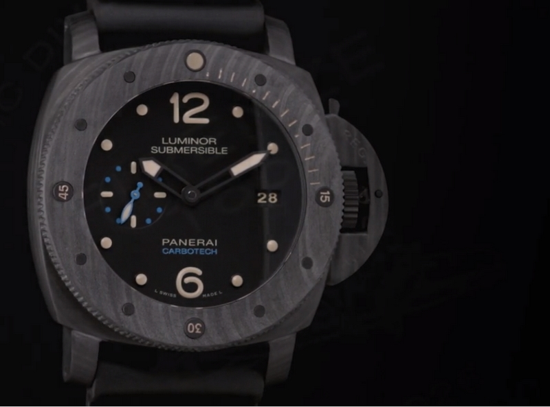 Panerai Carbotech Luminor Submersible 1950 Carbotech 3 Days Automatic 47mmwatch