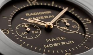Panerai Mare Nostrum Titanio - the dial