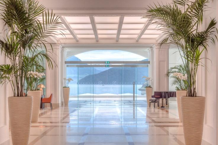 Park Hotel Vitznau lobby