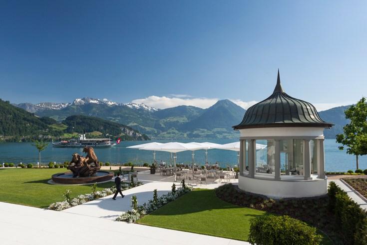 Park Hotel Vitznau panorama