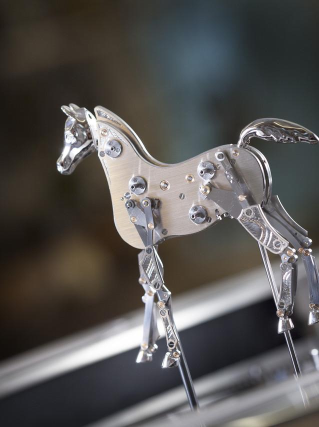 Parmigiani Fleurier Hippologia horse details