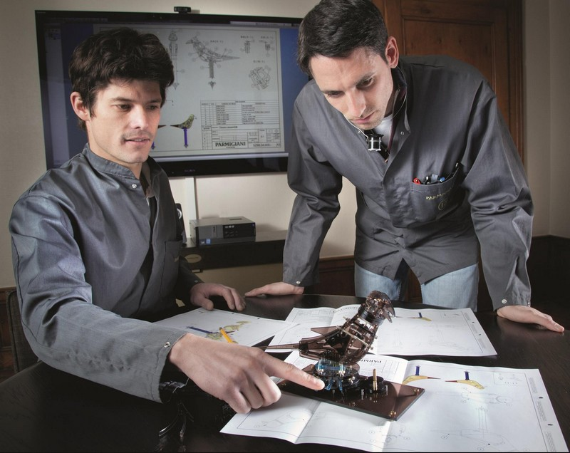 Parmigiani Fleurier The Pistol  Restoration atelier