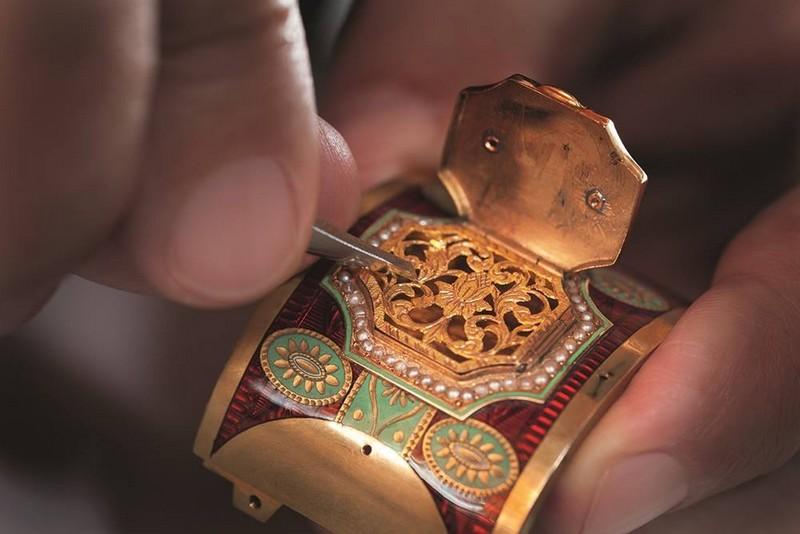 Parmigiani Fleurier The Pistol  Restoration project - SIHH 2016