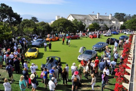 2015 Pebble Beach Concours d'Elegance raised a substantial amount of money