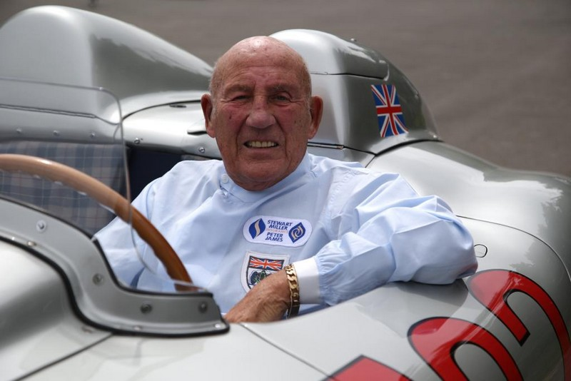 Pebble Beach - Sir Stirling Moss - Mercedes-Benz