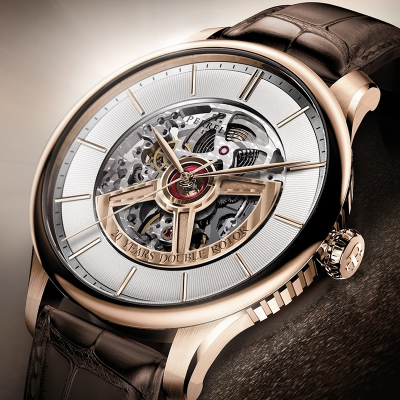 Perrelet First Class Double Rotor Skeleton 20th Anniversary