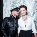 Peter Marino and Juliette Binoche at the Bulgari Gala Dinner – 27th Biennale des Antiquaires, Grand Palais, Par