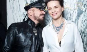 Peter Marino and Juliette Binoche at the Bulgari Gala Dinner – 27th Biennale des Antiquaires, Grand Palais, Par
