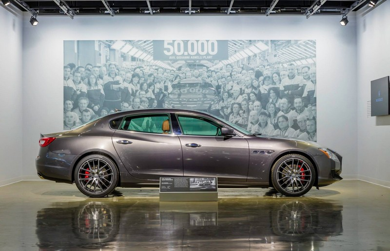 Petersen Automotive Museum - Maserati exhibit 2016-