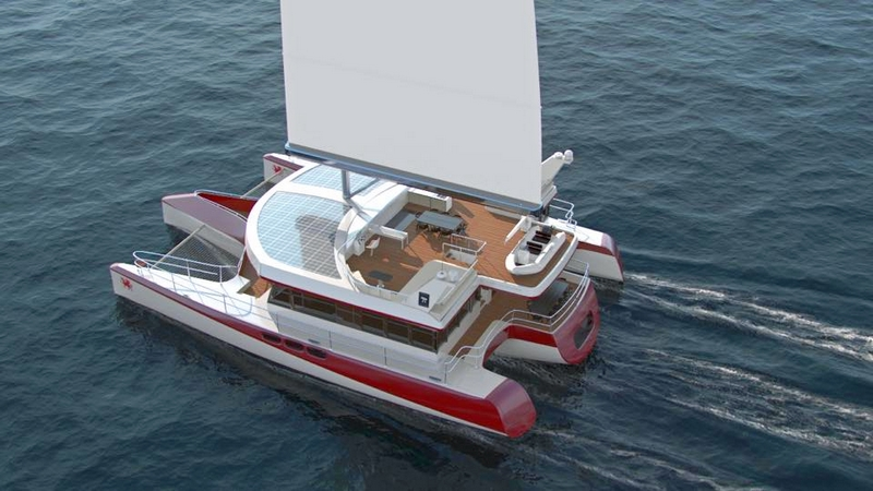 Pi Super Yachts  Dragonship 25 Luxury Super Trimaran