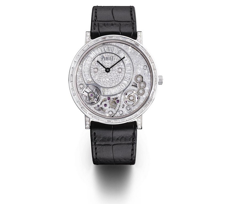 Piaget Altiplano 38MM 900D - The world's thinnest haute joaillerie watch