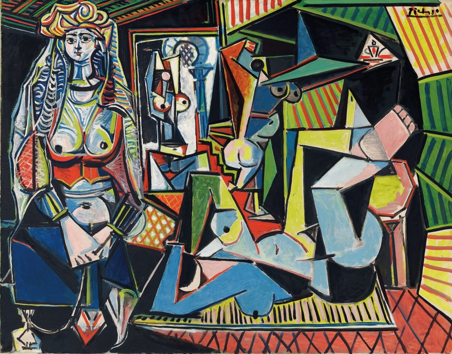Picasso Women of Algiers