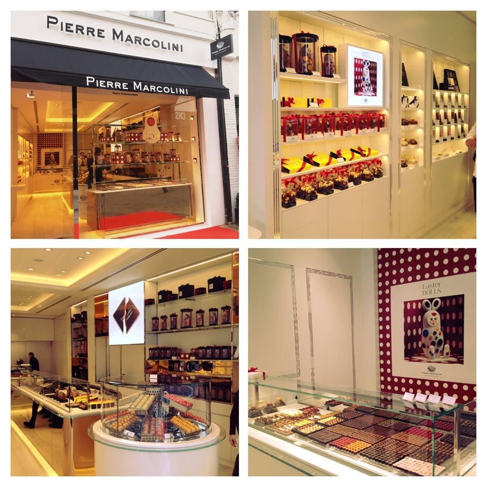 Pierre Marcolini -Haute Chocolaterie store in Antwerp