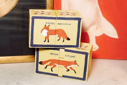 Pierre Marcolini and Maison Kitsuné haute chocolate bento box