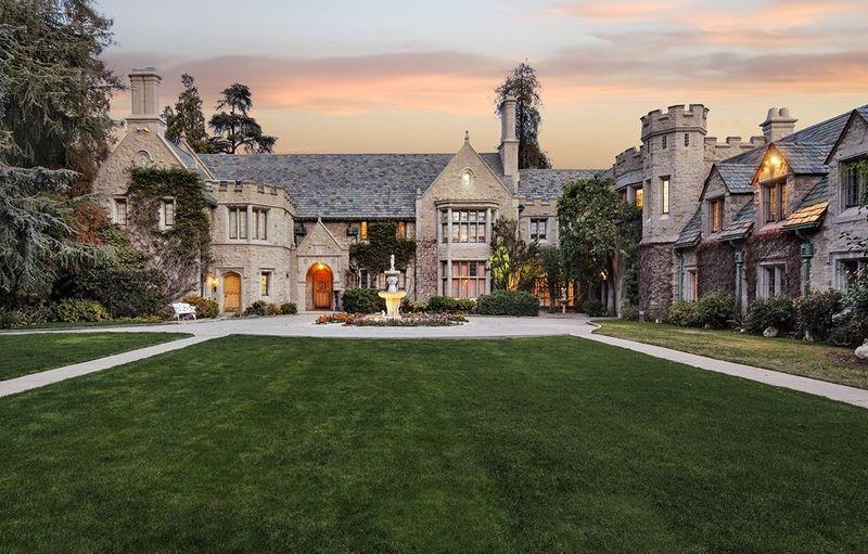 Playboy Mansion Hugh Hefner