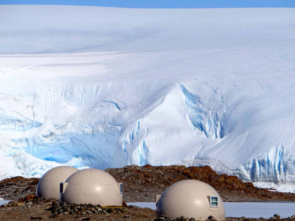 pods-with-icefall-behind-whichaway-camp-in-antarctica