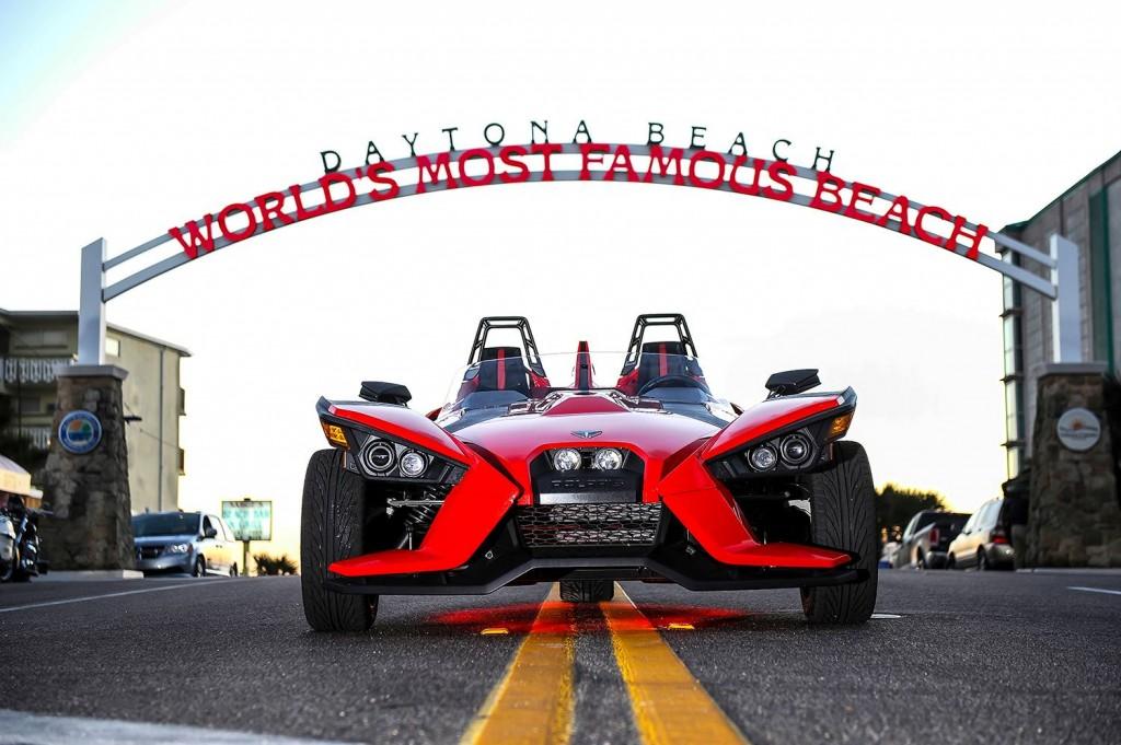 Polaris Slingshot - Red always makes the best kind of statement - DaytonaBikeWeek