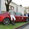 Polo-Duvet La Martina for Maserati echoes the iconic polo shirt-
