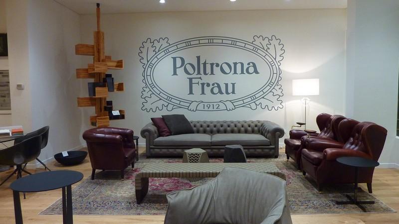Poltrona Frau temporary store Turin-