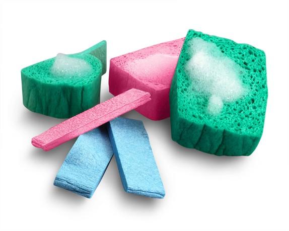 Pop-Up Sponges