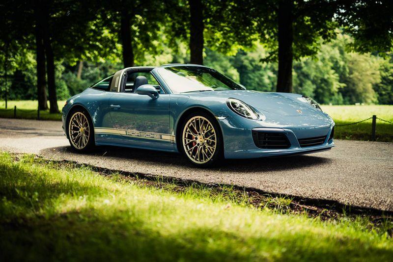 Porsche 911 Targa 4S Exclusive Design Edition-2016