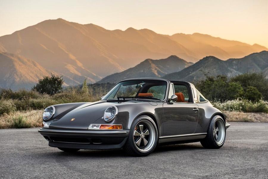 Porsche 911 Targa Reimagined by Singer-