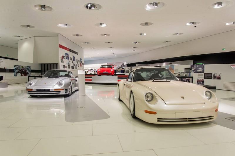 Porsche 959 exhibition Porsche Museum in 2015--