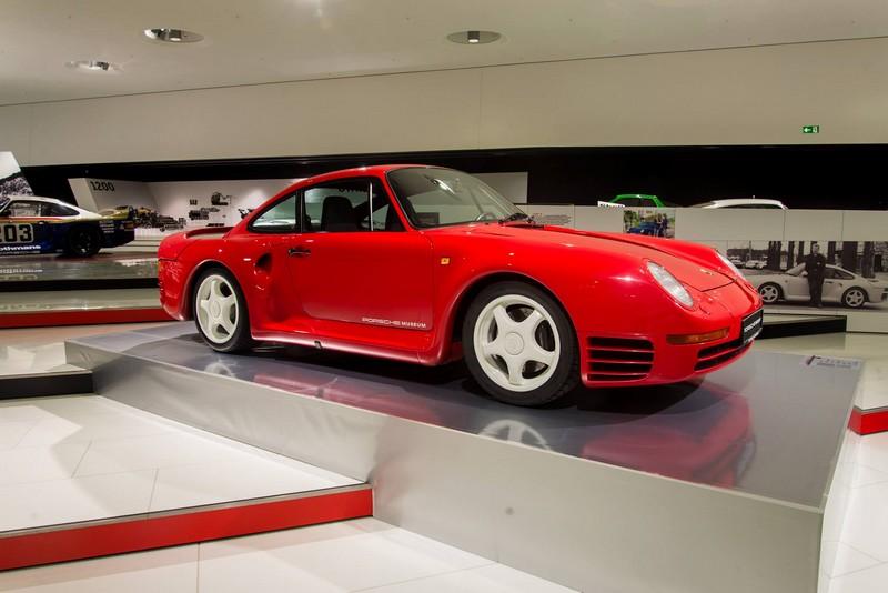 Porsche 959 exhibition Porsche Museum in 2015