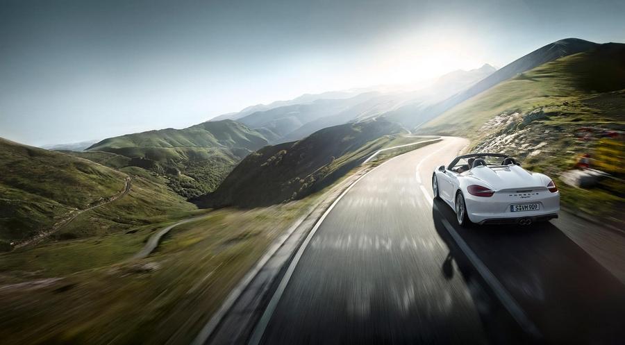 Porsche Boxter Spyder--
