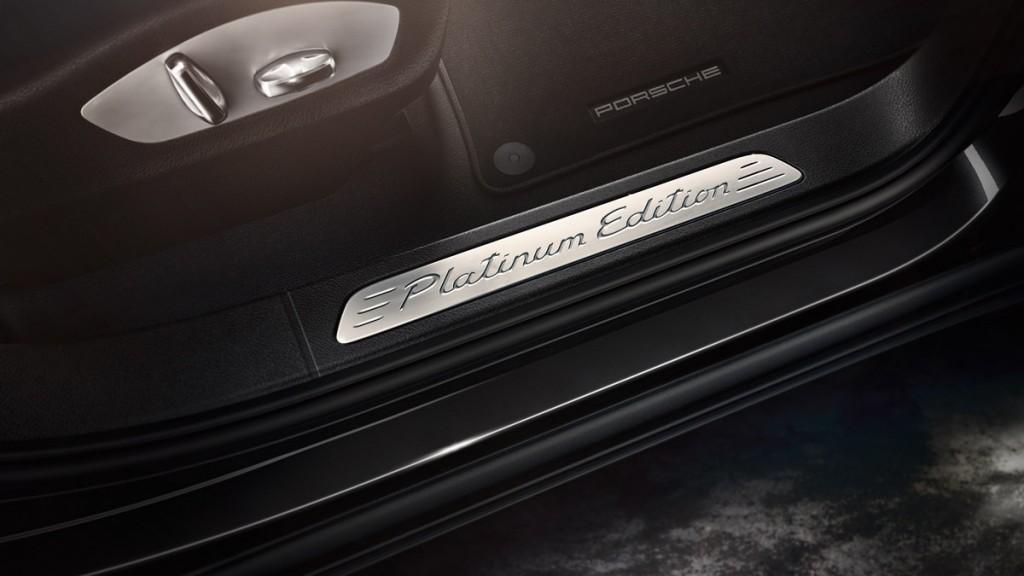 Porsche Cayenne Platinum Edition 2016-int