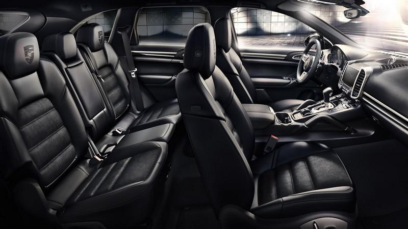 Porsche Cayenne Platinum Edition 2016-interior