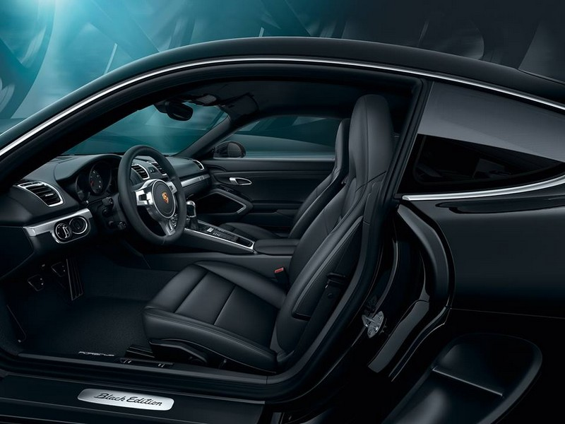 Porsche Cayman Black Edition-