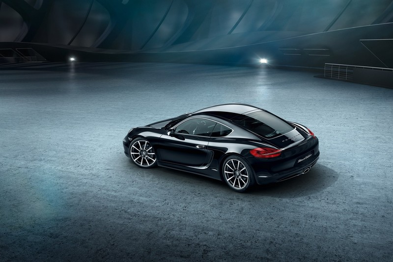 Porsche Cayman Black Edition 2015 model