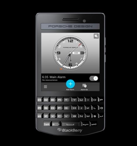 Porsche Design P'9983 Graphite smartphone-