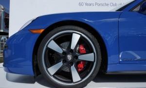 Porsche celebrates 60th anniversary of Porsche Club of America with limited-edition 911 model 2015-