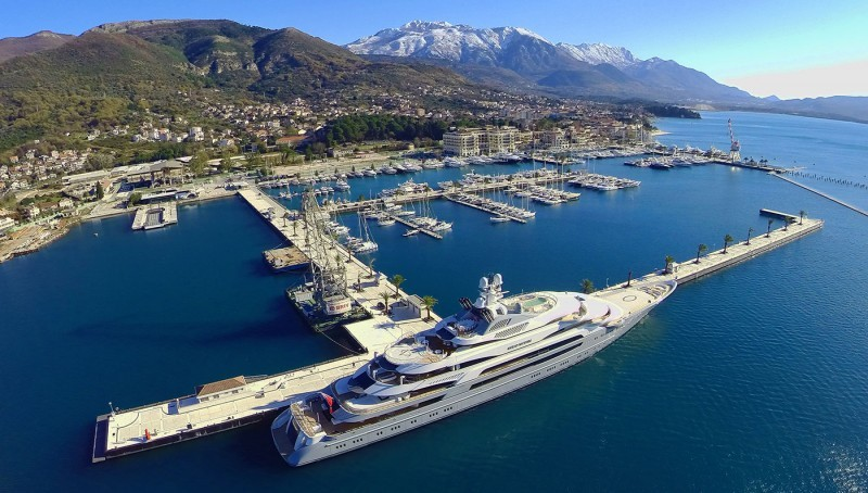 Porto Montenegro tops The List for Superyacht Berths