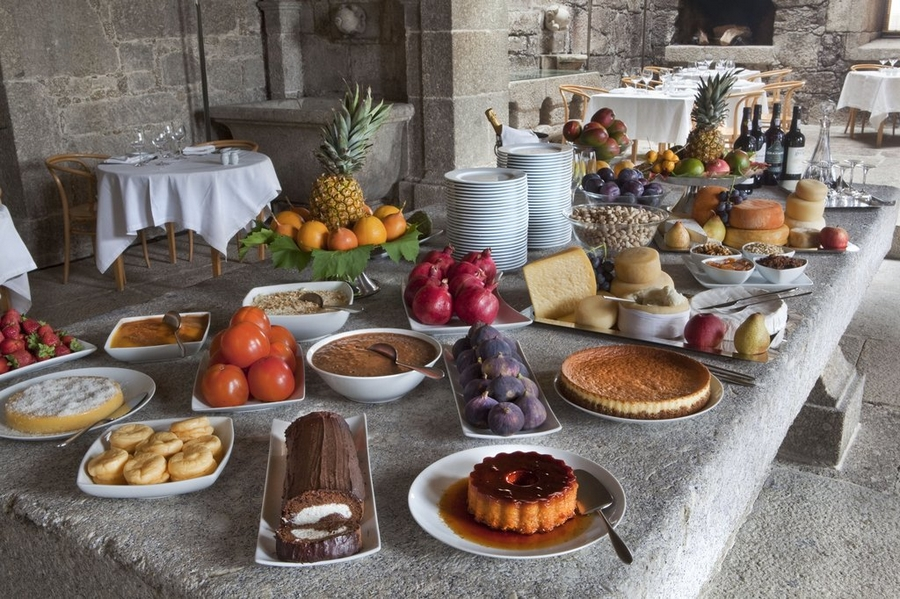 Pousada Mosterio de Amares, Amares, near Braga, North Portugal-cuisine